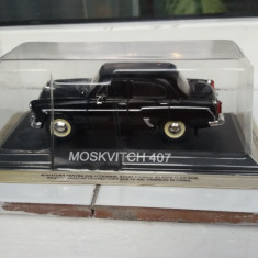 Macheta moskvitch 407+revista masini de legenda nr. 19 - Macheta auto, 1:43