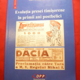 V.Corduneanu - Evolutia Presei Timisorene in primii ani postbelici - Ed.2011