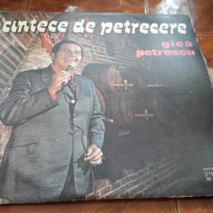 Gica Petrescu -vinil- Cantece De Petrecere -VINIL FARA ZGARIETURI IMPECABIL - Muzica Lautareasca electrecord