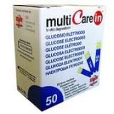 Teste glicemie 50 bucati pentru aparatele Multicare IN - Glucometru