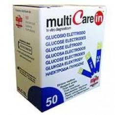 Teste glicemie 50 bucati pentru aparatele Multicare IN