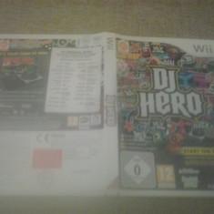 DJ Hero - Wii - Jocuri WII, Board games, 3+, Multiplayer