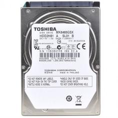 Hdd laptop 640 gb sata 2 / toshiba / 2,5 inch / Cu sectoare realocate (T18)