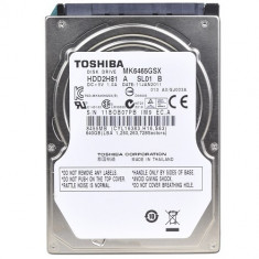 Hdd laptop 640 gb sata 2 / toshiba / 2, 5 inch / Cu sectoare realocate (T18), 500-999 GB, Rotatii: 5400