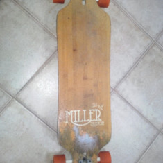 Longboard Miller Physis 95cm - Skateboard, Marime: 38