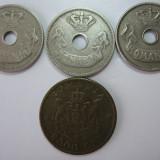 Romania (17) - 10 bani 1905, 1906, 1906 J, 2000 lei 1946