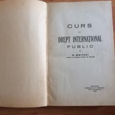 CURS DE DREPT INTERNATIONAL PUBLIC-G. MEITANI - Curs drept