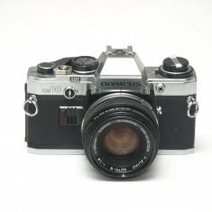 Olympus OM-10 + obiectiv Zuiko 50mm 1.8 - Stare perfecta! - Aparate Foto cu Film