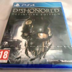 Dishonored Definitive Edition, PS4, original si sigilat, alte sute de jocuri! - Jocuri PS4, Role playing, 18+, Single player