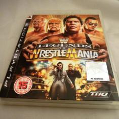 Joc Legends of Wrestlemania, PS3, original, alte sute de jocuri! - Jocuri PS3 Thq, Sporturi, 12+, Multiplayer