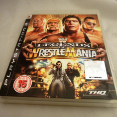 Joc Legends of Wrestlemania, PS3, original, alte sute de jocuri! - Jocuri PS3 Thq, Sporturi, 12+, Multiplayer