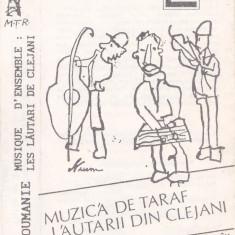 Caseta audio: Lăutarii din Clejani – Muzică de taraf (1994 - originala) - Muzica Lautareasca, Casete audio