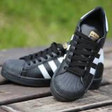 Adidasi Adidas Superstar Dama Negru - Adidasi dama, Culoare: Din imagine, Marime: 36, 37, 38, 39, 40, 41, 42, 43, 44, Piele sintetica