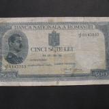 500 lei 1936 J/2 - Bancnota romaneasca