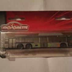 + Machete metalice Majorette 1/110 autobuze + - Macheta auto Majorette, 1:100