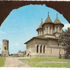 TARGOVISTE, BISERICA DOMNEASCA KRUGER 1968 - Carte Postala Muntenia dupa 1918, Circulata, Fotografie