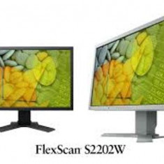 Monitor 22 inch LCD, TFT EIZO FlexScan S2202W, Black, Garantie pe viata - Monitor LCD