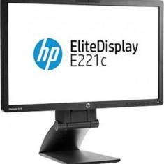 Monitor 22 inch LED, IPS, HP EliteDisplay E221c, Black, Garantie pe viata - Monitor LED