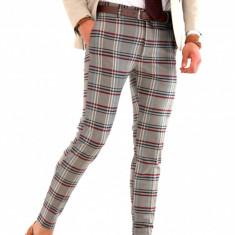Pantaloni tip ZARA barbati - nunta - botez - petrecere - COLECTIE NOUA 8213 - Pantaloni barbati, Marime: 32, 33, 34, Culoare: Din imagine