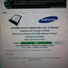 SSD Samsung 512Gb MZ-7TE5120