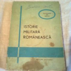 ISTORIE MILITARA ROMANEASCA - CULEGERE DE LECTII  ~ GHE. ROMANESCU