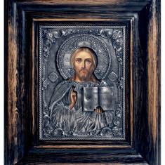 Mantuitorul Iisus Hristos - Icoana din metal