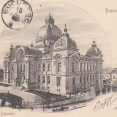 BUCURESTI  CASA DE DEPUNERI    CLASICA   TCV   CIRCULATA 1901, Printata
