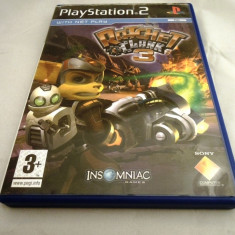 Ratchet and Clank 3, PS2, original! Alte sute de jocuri! - Jocuri PS2 Ubisoft, Shooting, 12+, Single player