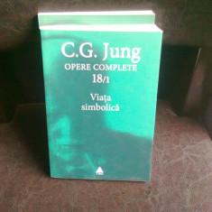 VIATA SIMBOLICA - C.G. JUNG - Carte Psihologie
