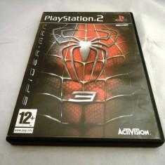 Joc Spider-Man 3, PS2, original, alte sute de jocuri! - Jocuri PS2 Ubisoft, Actiune, 12+, Single player