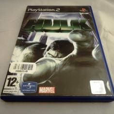 Joc Hulk, PS2, original, alte sute de jocuri! - Jocuri PS2 Ubisoft, Actiune, 12+, Single player