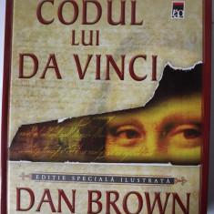 Codul lui DaVinci, Editie speciala ilustrata, Dan Brown - Carte de lux