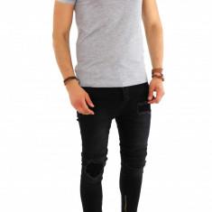 Tricou model polo simplu - tricou barbati - tricou slim fit 8228, Marime: M, Culoare: Din imagine, Maneca scurta