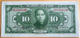 SV * China  TEN DOLLARS / 10 DOLARI  1928    (Banca Centrala)     XF+/-AUNC