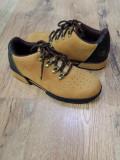 Pantofi barbat TIMBERLAND originali noi piele nubuck camel foarte comozi 40, Piele intoarsa