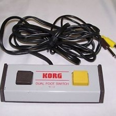 KORG S-2 Dual Foot Switch