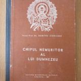 CHIPUL NEMURITOR AL LUI DUMNEZEU- DUMITRU STANILOAE/ CARTONATA/ 1987 - Carti ortodoxe