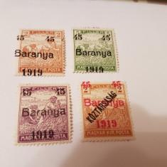 Romania/emisiunea baranya 1919 supratipar/seceratori/s - Timbre Romania, Nestampilat