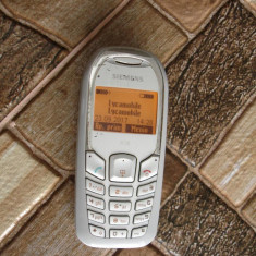 Telefon Siemens A51 A70 - vintage de colectie fabricatie 2005 - cu incarcator - Telefon mobil Siemens, Albastru, <1GB, Neblocat, Fara procesor, Nu se aplica