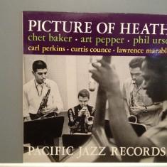 CHET BAKER - PICTURE OF HEATH (1961/TOSHIBA/JAPAN) - Vinil/RAR/Impecabil (M-) - Muzica Jazz emi records