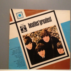 BEATLES - GREATEST (1975/ODEON REC/HOLLAND) - Vinil/Vinyl/Impecabil(NM) - Muzica Rock emi records