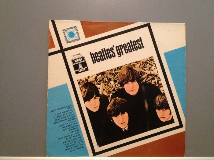 BEATLES - GREATEST (1975/ODEON REC/HOLLAND) - Vinil/Vinyl/Impecabil(NM)