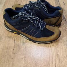 Pantofi barbat TIMBERLAND originali noi piele waterproof talpa Vibram 45, Culoare: Multicolor, Piele naturala, Sport
