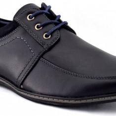 Pantofi Casual Barbatesti Bleumarin inchis - Social10 - Pantofi barbat, Marime: 40, 43