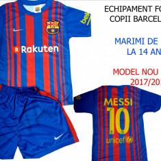 ECHIPAMENTE FOTBAL COPII MESSI- BARCELONA, SEZON 2017/2018, CEL MAI NOU MODEL ! - Set echipament fotbal Nike, Marime: XXL, XL, L, M, S