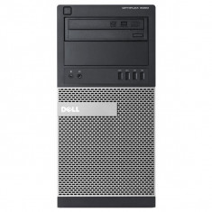 Calculator Dell Optiplex 9020 Tower, Intel Core i7 Gen 4 4770 3.4 GHz, 16 GB DDR3, 500 GB HDD SATA, DVDRW, Windows 7 Home Premium, Garantie pe viata