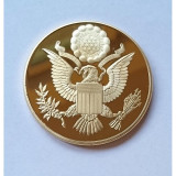 Medalie Masonica SUA Annuit Coeptis Marele Sigiliu USA Great Seal