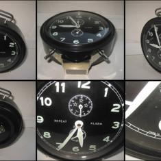 PETER- Ceas masa-Continuous Repeat-Alarm, fosforescent, functional.. - Ceas desteptator