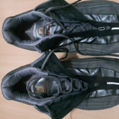 Adidasi Nike Shox 44, 5 - Adidasi barbati Nike, Culoare: Gri