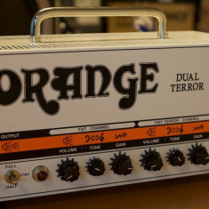 Head pe lampi Orange Dual Terror - Amplificator Chitara